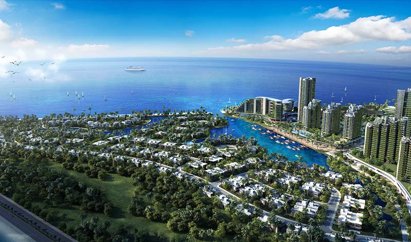 Country Garden Unveils Forest City In Iskandar Malaysia
