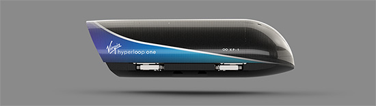 Virgin Hyperloop One Xp 1 Pod