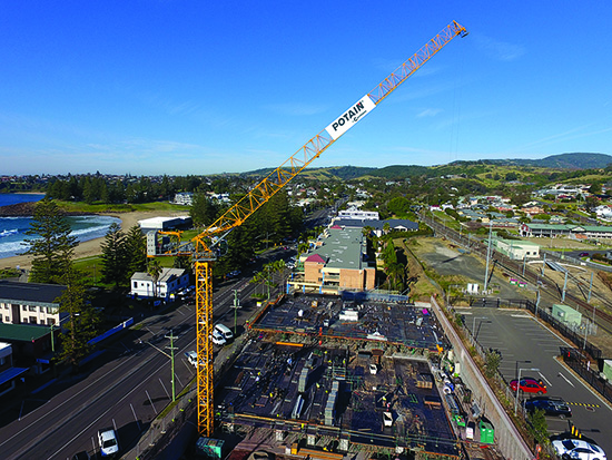 Potain Launches Its First Hydraulic Topless Luffing Jib Crane 1 550