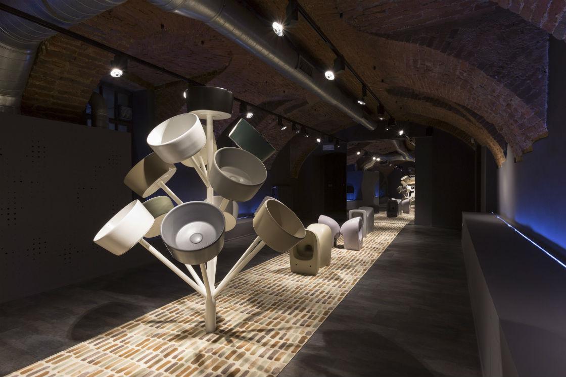 Ceramica Globo Space Stone.Ceramica Globo Presents The Bagno Di Colore Palette At Furisalone