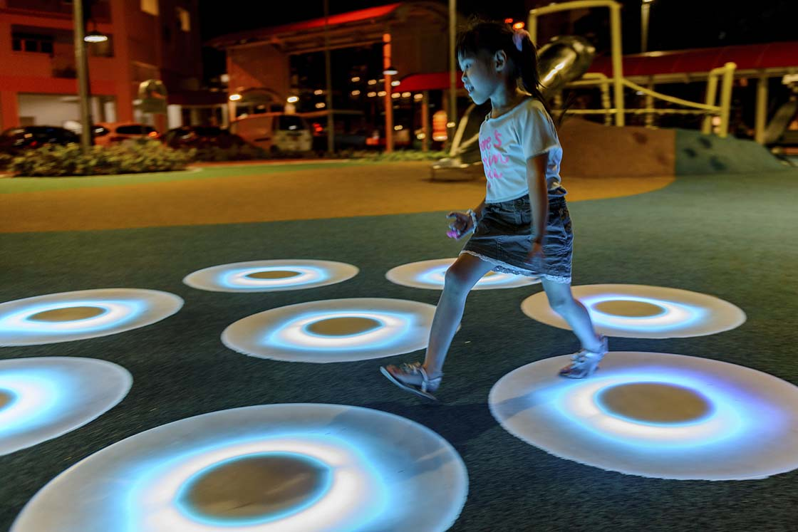 residents of yishun river green get interactive playground news